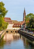 View Of Strasbourg Cathedral In The