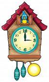 picture of pendulum clock  - Clock theme image 1  - JPG