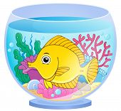 image of fishbowl  - Aquarium theme image 2  - JPG