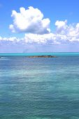 picture of gulf mexico  - ground in mexico froath and blue foam the sea drop sunny day wave - JPG