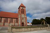image of falklands  - Historic Christchurch Cathedral in Stanley - JPG