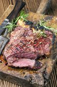 stock photo of wagyu  - grilled steak - JPG