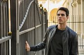 pic of turin  - Handsome young man outside historical building in European city  - JPG