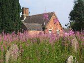 English Countryside Graveyard