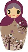 sweet Russian doll design