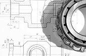 Desenho mecânico e ferramentas / rolamento