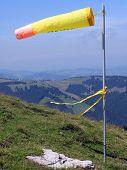 Alpine windsock