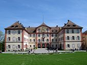 Baroque palace on Mainau island, Germany