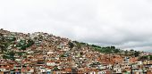 Sprawling ghetto of  Caracas, Venezuela