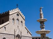 cathedral and fountain town of Messina