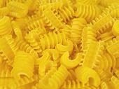 Pasta shapes background
