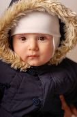 Child In A Warm Hood