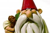 stock photo of  midget elves  - gnome close up - JPG