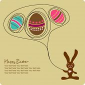 Easter greeting cartoon  - To see similar, please VISIT MY GALLERY.