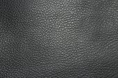 Black Leather Texture.background Of Black Bright Textured Leather. poster