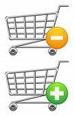 Shoppingcart And Button