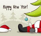 Pai Natal bêbado