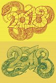 Year of the snake design.