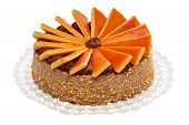 stock photo of torta  - Big sized famous Hungarian Dobos torte  - JPG