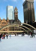 Skating In Downtown Toronto