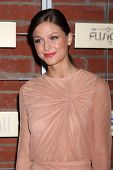 LOS ANGELES - SEP 10:  Melissa Benoist arrives at the FOX Eco-Casino Party 2012 at Bookbindery on Se
