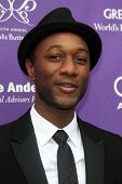 LOS ANGELES- JUN 8:  Aloe Blacc arrives at the 12th Annual Chrysalis Butterfly Ball at the Private Residence on June 8, 2013 in Los Angeles, CA