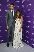 LOS ANGELES - 8 de JUN: Cory Monteith, Lea Michele chega no XII anual crisálida Butterfly Ball