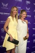 LOS ANGELES - JUN 8:  Kim Raver, Rebecca Gayheart arrives at the 12th Annual Chrysalis Butterfly Bal