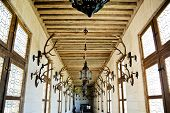 Hunting Gallery In In Chateau De Chambord