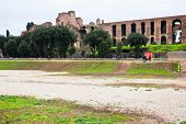 Ncient Palatine And Ground Of Circus Maximus