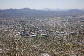 Tucson Skyline With Campus