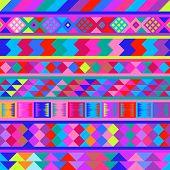 Seamless peruvian texture