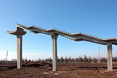 Construction Of Elevated Pedestrian Crossing