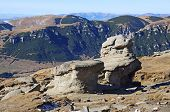 Babele Rocks On Bucegi Mountains In Romania