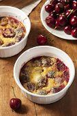 Organic Cherry Cobbler Cake