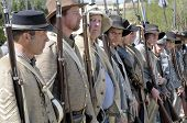 Confederate Soldiers Lineup