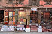 Small bazar / market near Durbar Square in Kathmandu, Nepal