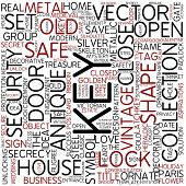 Word cloud - key