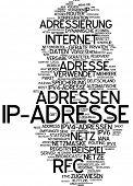 Nube de palabra - dirección IP