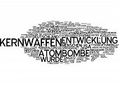 stock photo of chemical weapon  - Word cloud  - JPG