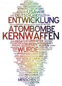 image of chemical weapon  - Word cloud  - JPG