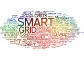 pic of smart grid  - Word cloud  - JPG