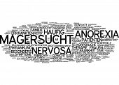 foto of anorexia  - Word cloud  - JPG