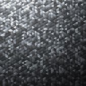 Gray blinking glitter background.Glittering sequins mosaic pattern.