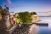 stock photo of san juan puerto rico  - San Juan - JPG