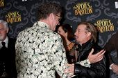 LOS ANGELES - JAN 7:  Will Ferrell, David Spade at the IFC's