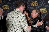 LOS ANGELES - JAN 7:  Will Ferrell, David Spade at the IFC's