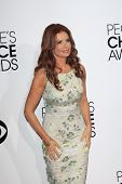 LOS ANGELES - JAN 8:  Roma Downey at the People's Choice Awards 2014 Arrivals at Nokia Theater at LA