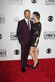 LOS ANGELES - JAN 8:  Ian Ziering, Erin Kristine Ludwig at the People's Choice Awards 2014 Arrivals at Nokia Theater at LA LIve on January 8, 2014 in Los Angeles, CA