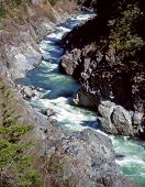 picture of klamath  - the klamath river flowing through the klamath national forest in northern california - JPG